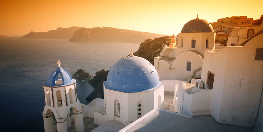 santorini-sunset